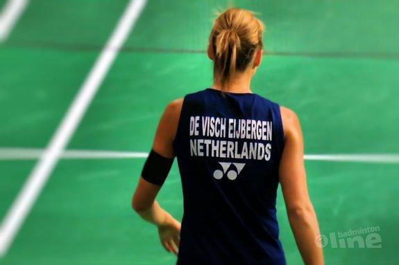 Deze afbeelding hoort bij 'Irish Open in full swing: will Soraya de Visch Eijbergen win her first title since 2014?' en is gemaakt door badmintonline.nl