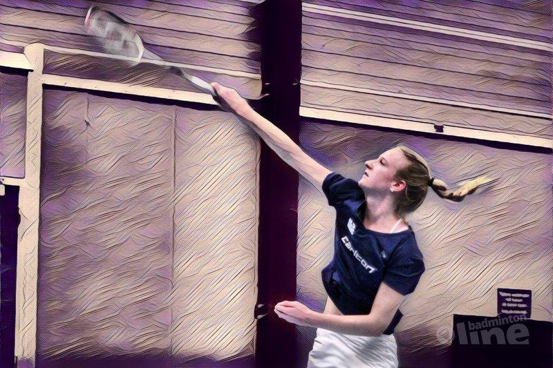 DKC pakt slechts twee punten tegen topclub Almere - Geert Berghuis / badmintonline.nl
