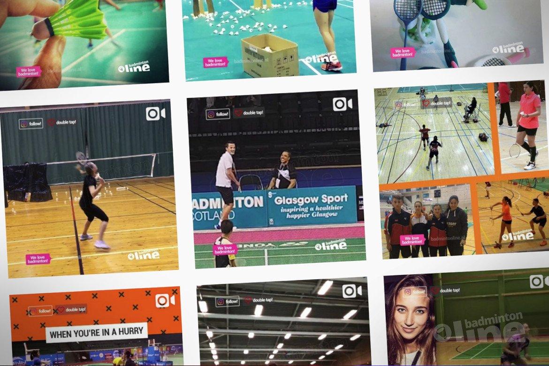 badmintonline.nl op instagram: meesterlijke trickshots van Mark Caljouw en nog veel meer!