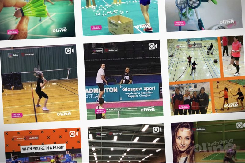 badmintonline.nl op instagram: meesterlijke trickshots van Mark Caljouw en nog veel meer! - badmintonline.nl