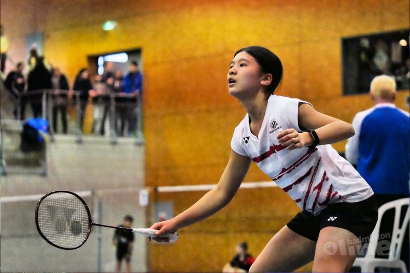 Amy Tan oppermachtig op Carlton International Youth Tournament 2017 - BC Victoria