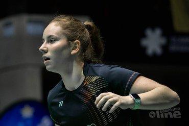 Juniorspeler Debora Jille maakt comeback met kwartfinale in Estland