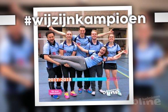 Stuur jouw kampioensfoto naar badmintonline.nl! - Jetske Verschuren / badmintonline.nl