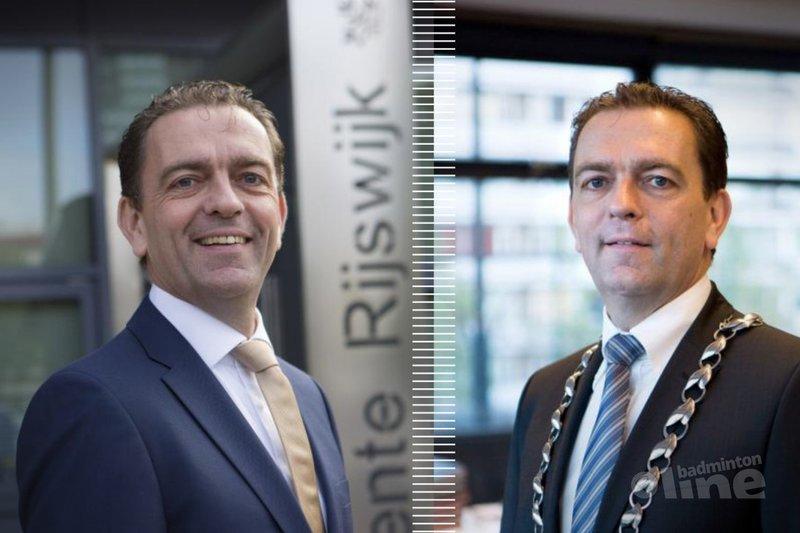 Burgemeester van Rijswijk kiest als nevenfunctie voorzitterschap Nederlandse badmintonbond? - Najib Nafid / badmintonline.nl
