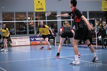Almere versterkt koppositie na 7-1 winst op Amersfoort
