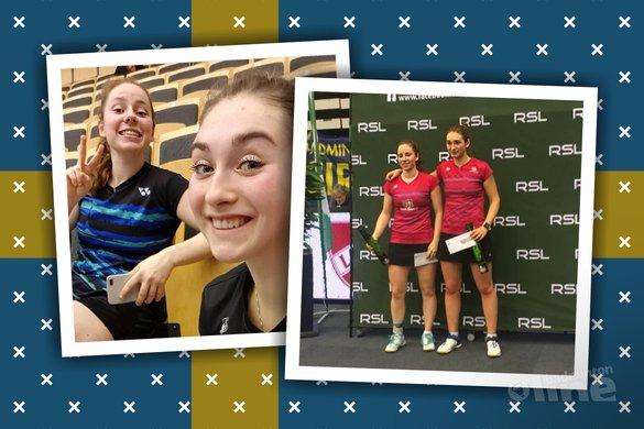Imke van der Aar en Debora Jille runner-ups in Zweden - Imke van der Aar / Badminton Nederland / badmintonline.nl