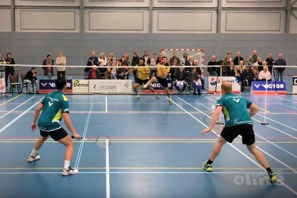 Sombere badmintonzondag voor VELO - Danny van Spreuwel