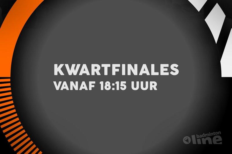 Kwartfinales NK Badminton 2018 bekend: favorieten op koers - badmintonline.nl