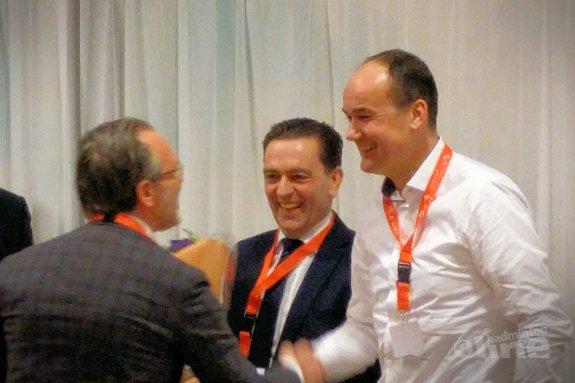 Michel Bezuijen officieel gekozen als voorzitter Badminton Nederland - badmintonlinenl