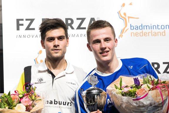 Mark Caljouw en Gayle Mahulette prolongeren titel op Nederlandse Kampioenschappen Badminton 2018 - Alex van Zaanen