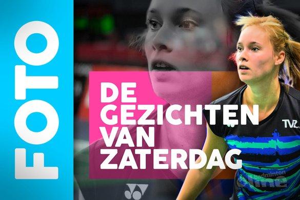Badmintonfoto's: De Gezichten van Zaterdag (NK Badminton 2018) - badmintonline.nl