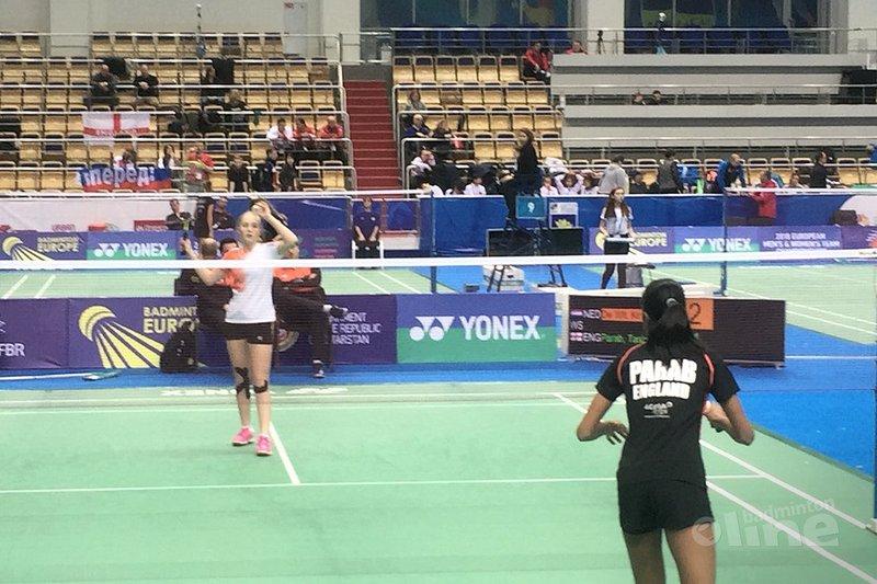 Wisselende successen op eerste dag Europese Jeugdkampioenschappen U15 in Rusland - Badminton Nederland