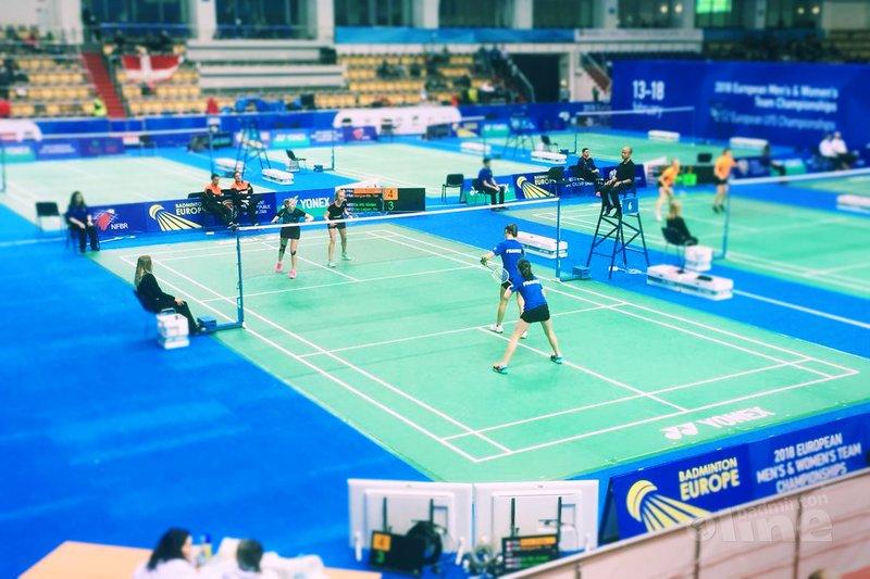 Kwartfinales eindstation Nederlandse kinderen bij EJK U15 in Kazan - Badminton Nederland / badmintonline.nl