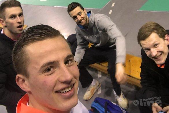 Drie Nederlandse gemengddubbels door naar tweede ronde Swiss Open 2018 - Mark Caljouw
