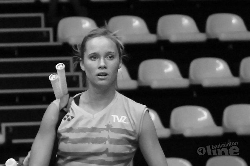 Qualifier Anna Thea Madsen still a bridge too far for Soraya de Visch Eijbergen - Geert Berghuis / badmintonline.nl