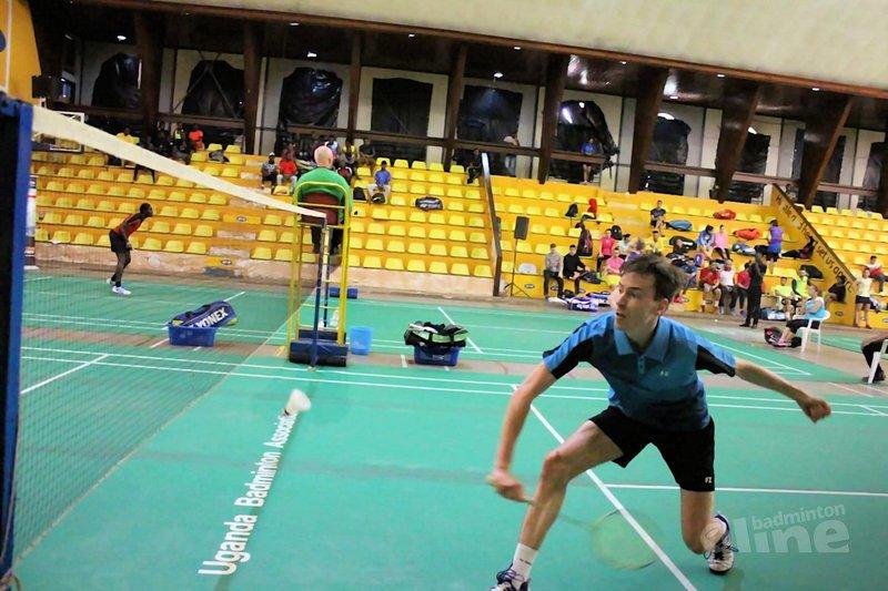 Niels Veenstra grijpt naast kwartfinale Uganda International 2018 - Niels Veenstra