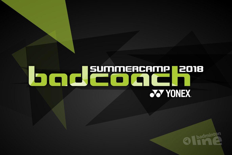 Badcoach Summercamp 2018: individuele aandacht en veel plezier