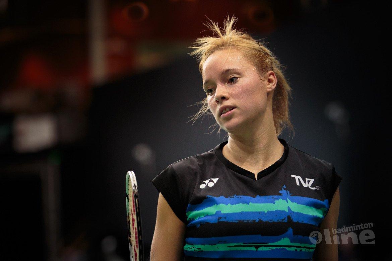 Indiase Mugdha Agrey te sterk voor Nederlands Kampioene badminton