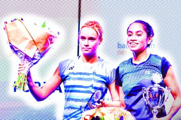 Wereldranglijst van donderdag 1 maart 2018: Gayle Nederlands Kampioen, Soraya internationaal aan de top - Geert Berghuis / badmintonline.nl
