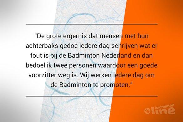 Tevredenheidsonderzoek: BNL-vrijwilliger ergert zich aan berichtgeving over Badminton Nederland - badmintonline.nl