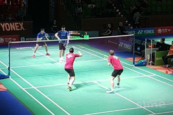 Jelle Maas en Robin Tabeling stunten bij German Open 2018 - Badminton Nederland