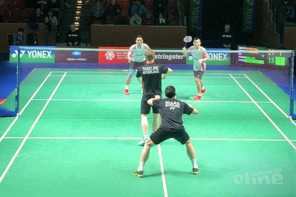 Spannende driegamer eindstation voor Maas en Tabeling in Mulheim an der Ruhr - Badminton Nederland