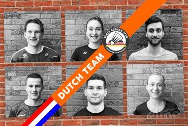 Zes Nederlanders blijven op koers tijdens German Open 2018