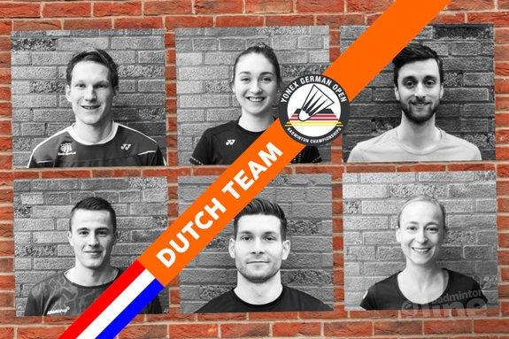 Zes Nederlanders blijven op koers tijdens German Open 2018 - Badminton Nederland / badmintonline.nl