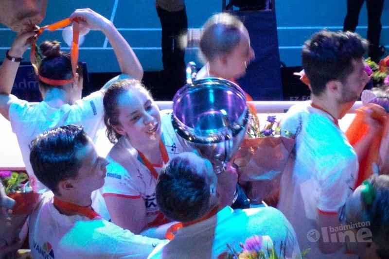 Duinwijck pakt in Den Bosch 25e titel landskampioenschap Nederlandse Badminton Eredivisie - badmintonline.nl