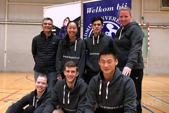 Amstelveense badmintonclub Van Zijderveld handhaaft plaats in Nederlandse Badminton Eredivisie - Van Zijderveld