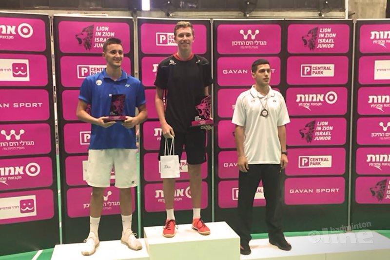 Dennis Koppen wint Israel Junior - Dennis Koppen