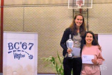 Wendy Hoeve en Rick Steuten prolongeren badmintontitel in Veghel