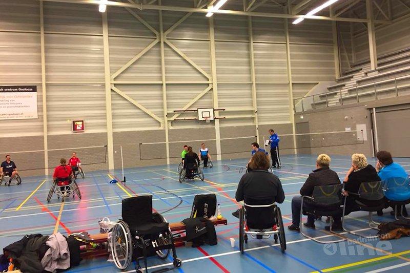 Groot deelnemersaantal aangepast badmintontoernooi Delftse Redeoss - Redeoss