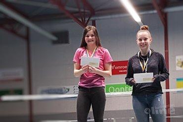 Denzell van Soerland en Fenna Laros winnen Junior Master in Almere