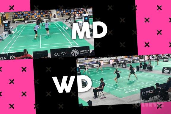 Dubbelkoppels succesvol in Frankrijk tijdens eerste ronde Orléans Masters 2018 - Badminton Nederland / badmintonline.nl