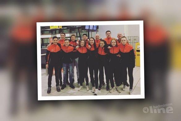 Nederlandse badmintonkids naar U17 Six Nations 2018 in Milton Keynes - Badminton Nederland