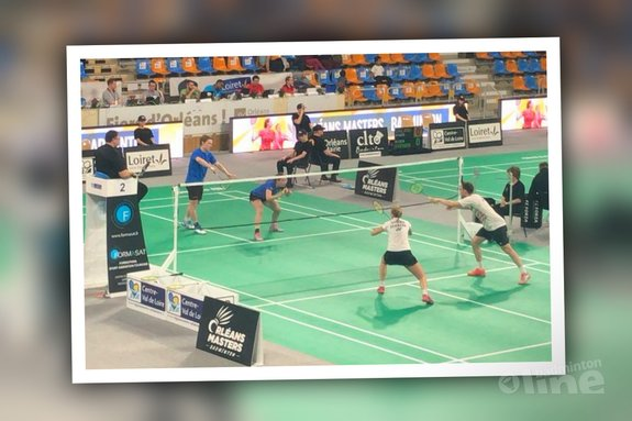 Jacco Arends en Selena Piek door naar kwartfinales Orleans Masters 2018 - Badminton Nederland