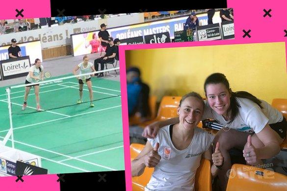 #seipie staat in de kwartfinale van de Orleans Masters 2018 - Badminton Nederland / Cheryl Seinen / badmintonline.nl