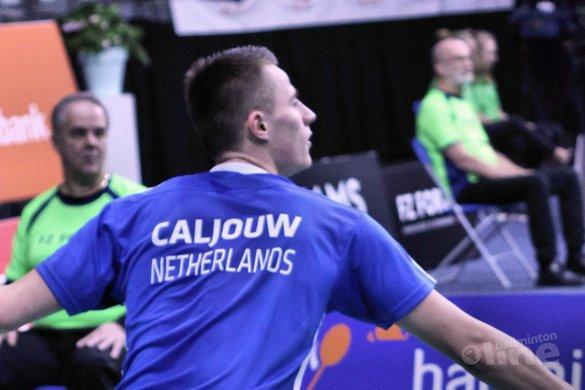 Mark Caljouw in finale US Open 2018 - Geert Berghuis