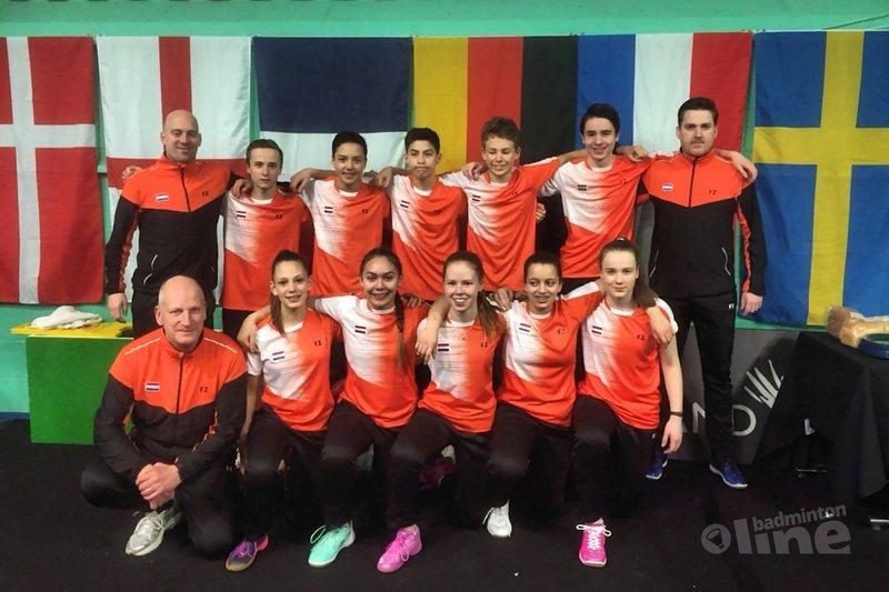 Teamtoernooi Six Nations U17 weer achter de rug - Badminton Nederland