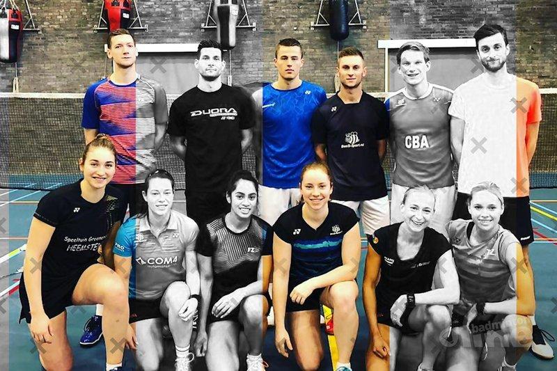 Welke badmintonners zitten er in de nationale selectie van Badminton Nederland? - Badminton Nederland / badmintonline.nl