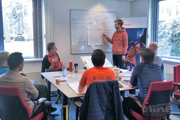 Mia Audina bij Papendal-overleg tussen talent- en bondscoaches Badminton Nederland - Badminton Nederland
