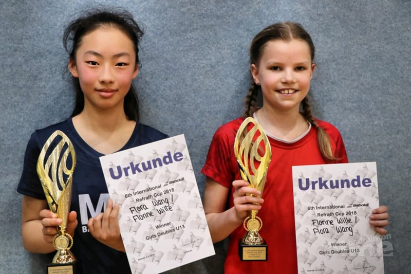International Refrath Cup jeugdtoernooi met Nederlandse kids - René Sehr