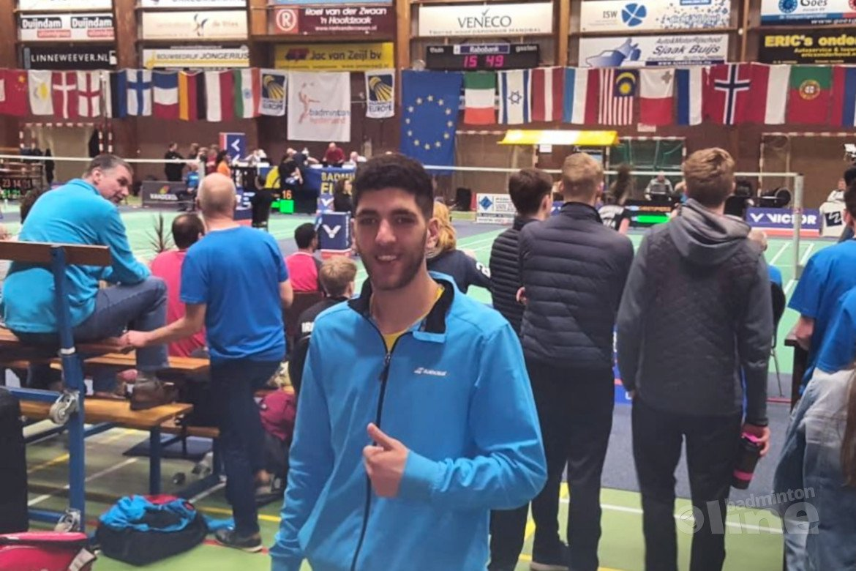 Sympathieke Syriër Aram Mahmoud onbetwist aan kop op badmintonranglijst Master Circuit van 16 april 2019
