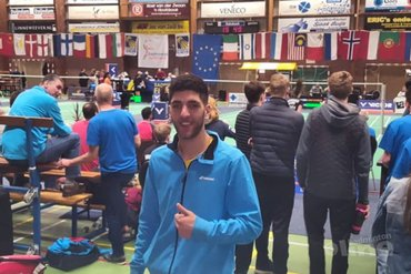 Syrische vluchteling Aram Mahmoud overleeft kwalificatietoernooi Dutch International
