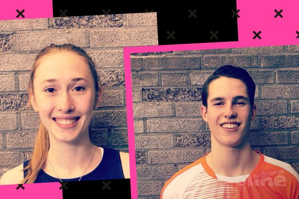 Cyprus Junior 2018: Tweede plaats voor Gijs Duijs en Madouc Linders - Badminton Nederland / badmintonline.nl