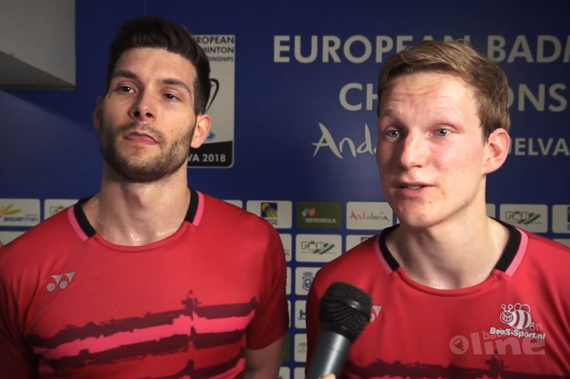 Vijf oranje gekleurde kwartfinales bij EK Badminton 2018 - Badminton Europe