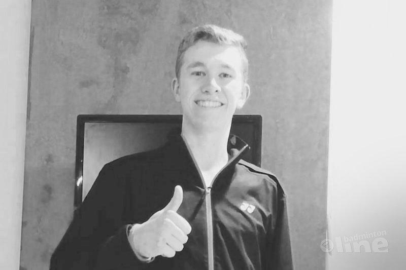 Jeugdspeler Dennis Koppen gekwalificeerd voor de Jeugd Olympische Spelen 2018 - Badminton Nederland