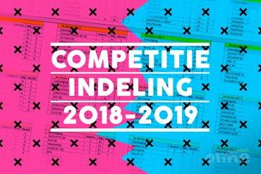 Indeling Bondscompetitie 2018-2019 bekend: in welke poule speel jij?
