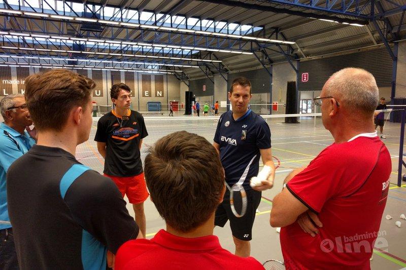 Erik Meijs FUNDRAISER in volle gang in Arnhem - badmintonline.nl